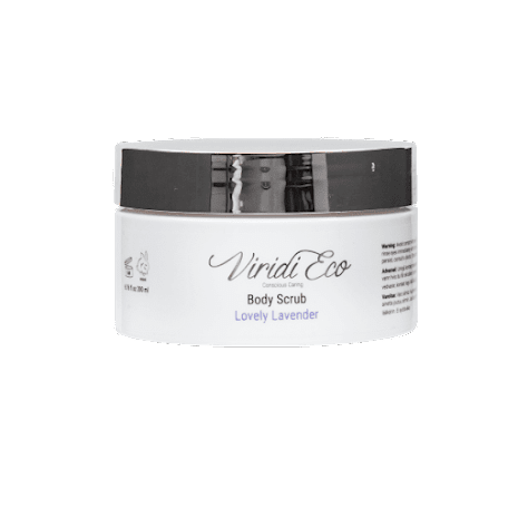 Body scrub lovely lavender