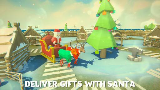 ❄ Deer Simulator Christmas Game 3D Family Xmas 1.3 screenshots 2