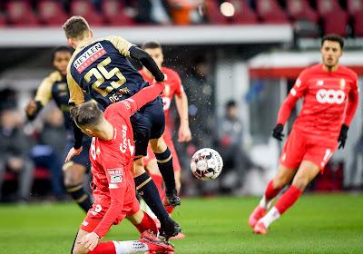 Alexis De Sart réagit après la défaite de l'Antwerp au Standard
