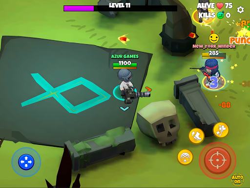 Warriors.io - Battle Royale Action android2mod screenshots 11