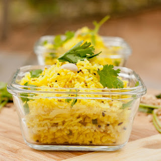 Indian Lemon Rice.