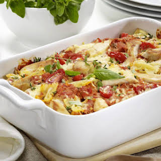 Southern Chicken and Noodle Casserole.