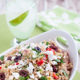 Greek Style Quinoa Salad Recipe