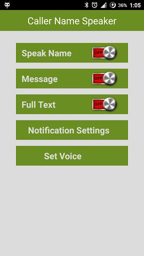 Caller Name SMS Speake