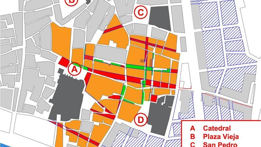 Callejero y urbanismo cofrade