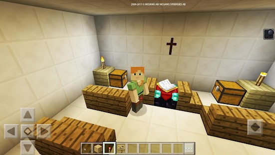 Night adventure in the hospital map for MCPE Craft