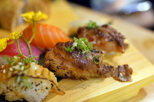 宗初食堂。值得等待的新鮮現做美味壽司‧來自帥氣阿宗師傅的好手藝!