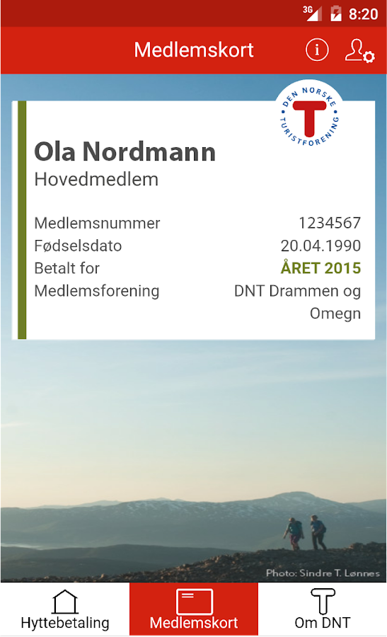 DNT Mobile Membership- screenshot