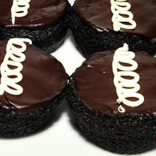 Homemade Hostess Cupcakes.