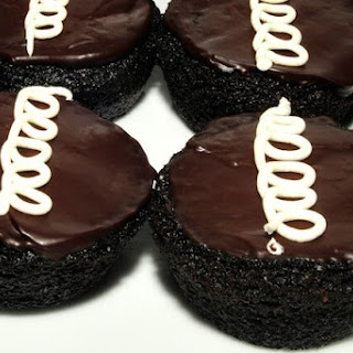 Homemade Hostess Cupcakes.