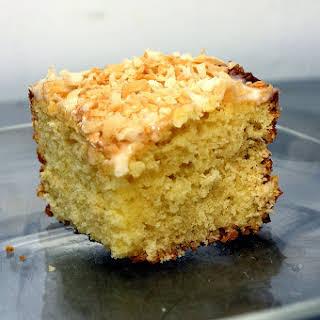 Key Lime Coconut Cake.
