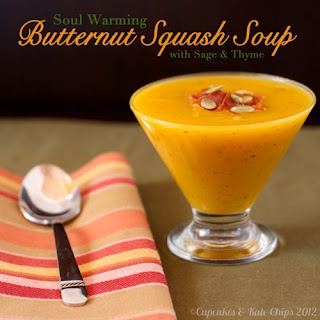Soul Warming Butternut Squash Soup