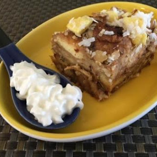 Tropical Bread Pudding