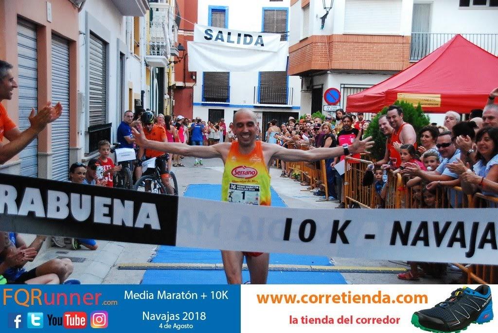 atleta de Alboraya del Carnicas Serrano LUIS FELIX MARTINEZ GOMEZ