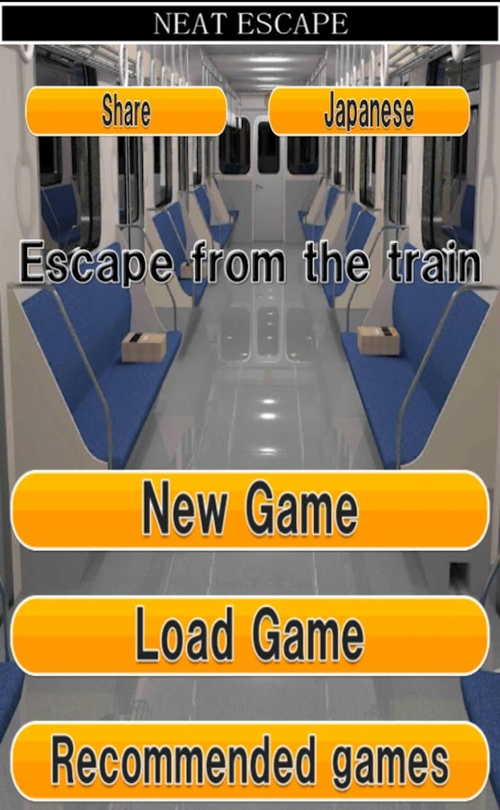 Escape from the train- screenshot