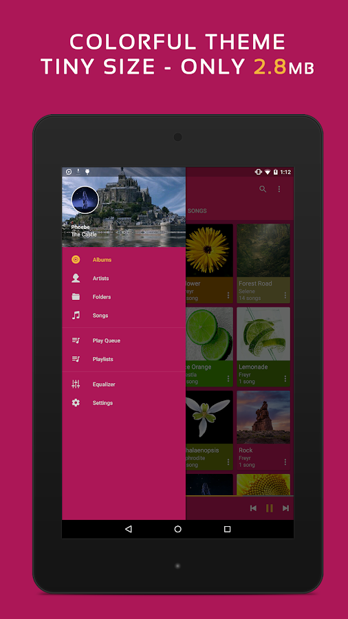 Pulsar Music Player- screenshot