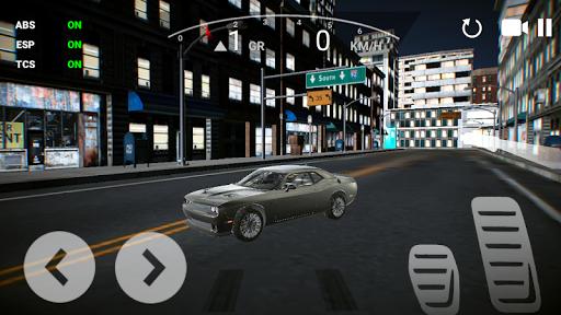 USA Car Driving Simulator: Night Driving Games 4 screenshots 2