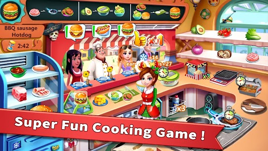 Rising Super Chef MOD (Free Shopping) 1