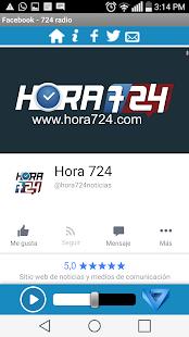 Hora 724 Radio - náhled