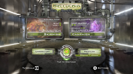 Gelluloid: Bio War Strategy- screenshot thumbnail