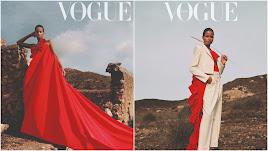 Dos de las imágenes publicadas en la revista. / Fotos: Anya Holdstock.