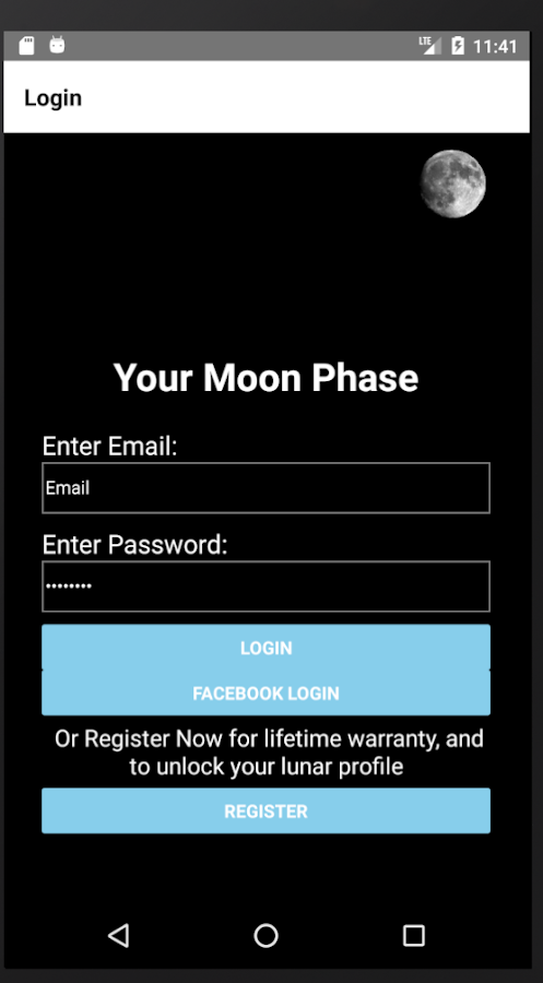Your Moon Phase- screenshot