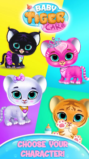 Baby Tiger Care - My Cute Virtual Pet Friend 1.0.78 screenshots 2