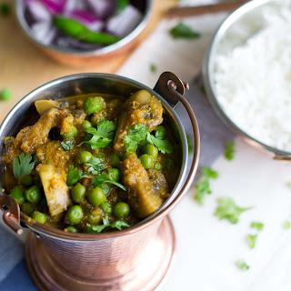 Matar Mushroom (Peas- Mushroom Curry)