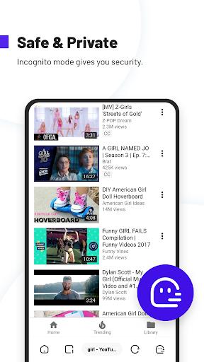 UC Browser Turbo- Fast Download, Secure, Ad Block screenshot 3