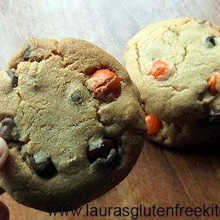 Gluten Free Reece's Pieces Chocolate Chip Cookies
