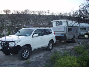 Photo: Our 1st nights road side camp spot