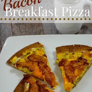 Bacon Breakfast Pizza.