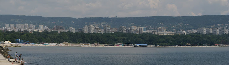 Photo: The waterfront of Varna