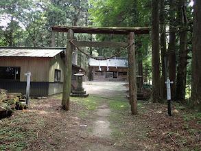 大船神社の境内