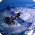 Weather Satellite Map icon
