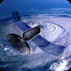 Weather Satellite Map icon