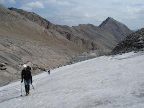 Photo: Dejamos atrás la Aiguille d'Argentière (3.237m)