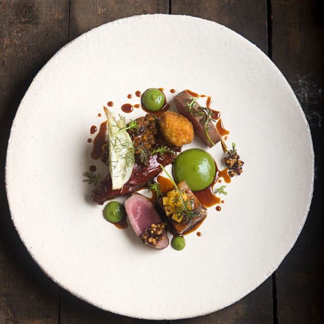 Karoo lamb, fennel and apricot.