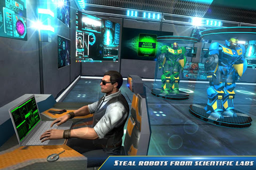 Stealth Robot Transforming Games - Robot Car games 1.0 app download 1