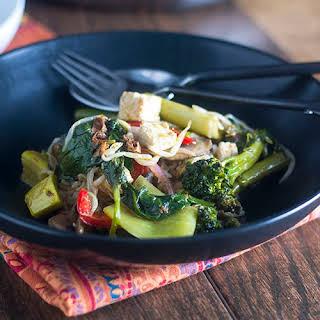 Thai Red Curry Tofu.