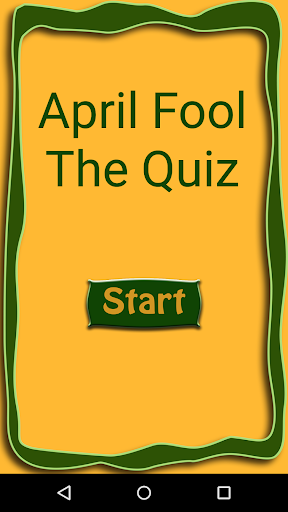 April Fool - The Quiz