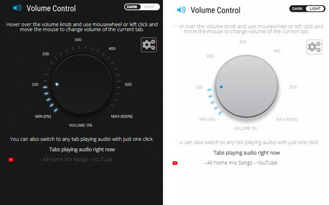 التحكم في مستوى الصوت