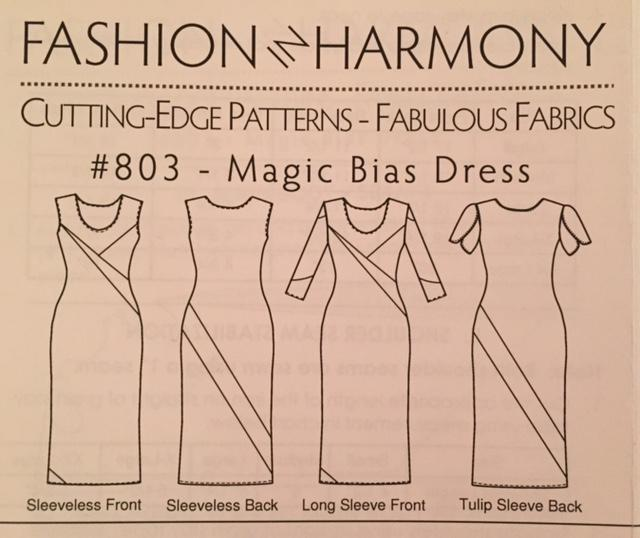 Magic Bias Dress Sew Along: Week 2 Color Blocking