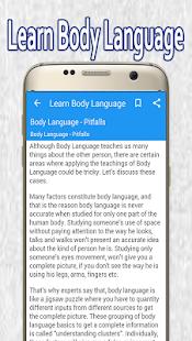 Learn Body Language - náhled