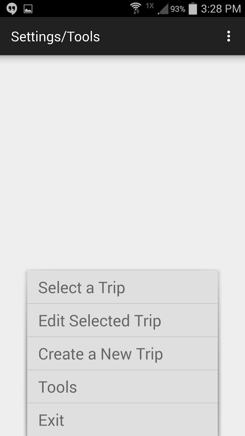 Скриншот GPSGuide