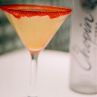 Chopin Harvest Martini.