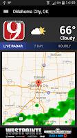 Screenshot of News 9 Weather