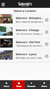 Salerno's Pizza- screenshot thumbnail