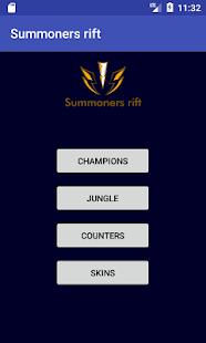 Summoners rift - náhled