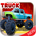 Truck With Big Wheels icon